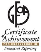 Certificate of Achievement for excellence